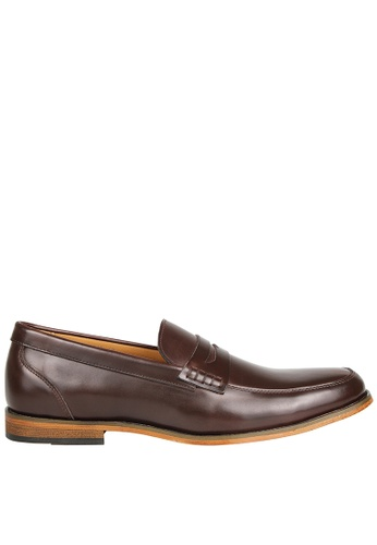 Tomaz brown Tomaz F213 Penny Loafers (Coffee) 14D16SH81FFA8BGS_1