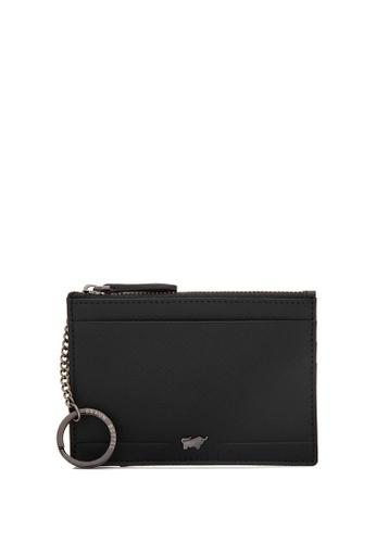 Braun Buffel black Craig-C Coin Holder with External Card Slots 558DDAC563B565GS_1