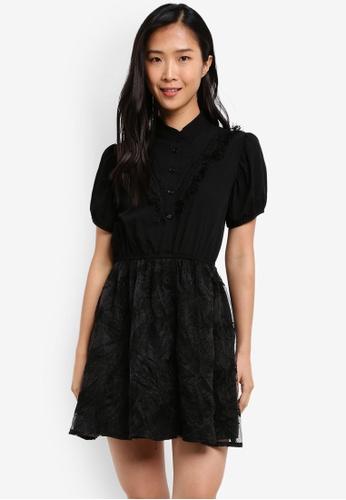 KLEEaisons black Mini Lace Dress KL492AA0RVP2MY_1