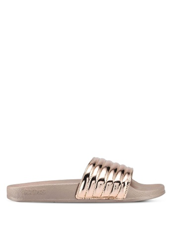 Slydes gold Port Sandals EEC15SH95607C1GS_1