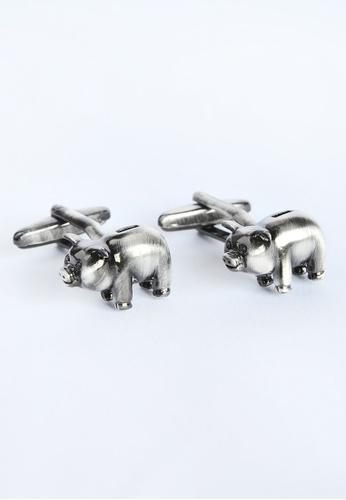 Splice Cufflinks Piggy Bank Style Cufflinks SP744AC26XYFSG_1