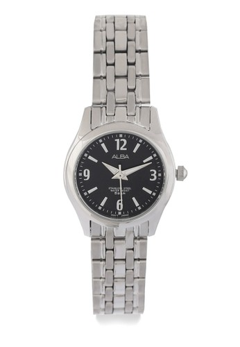 Alba silver ALBA Jam Tangan Wanita - Silver Black - Stainless Steel - ARSY39  89133ACF0E7448GS_1