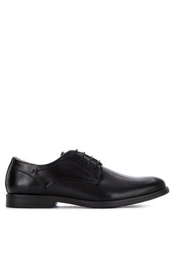 Gibi black Wax 017 Laced-Up Formal Shoes A34C5SH457F5A1GS_1