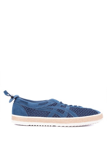 Onitsuka Tiger blue Delegation Light Lace-up Sneakers 52A8DSH3532920GS_1