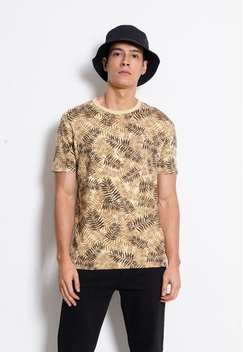 Hi Style Graphic Short Sleeve T-Shirt E02E1AA8591EFEGS_1