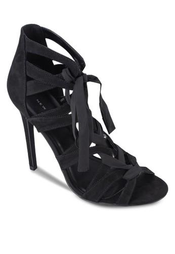esprit分店地址纏繞式踝帶高跟涼鞋, 女鞋, 鞋