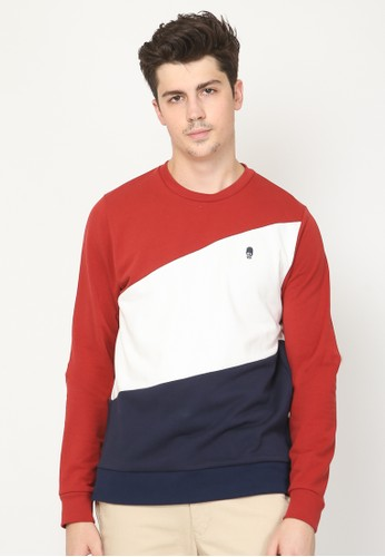 Skelly red Skelly Royale Mod Sweatshirt Pullover B140EAACFEE036GS_1
