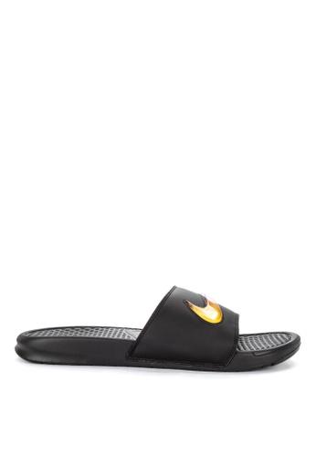 10fd0ee6fa7f Nike black Benassi Jdi SE Sandals E4AC8SHC61BC78GS 1