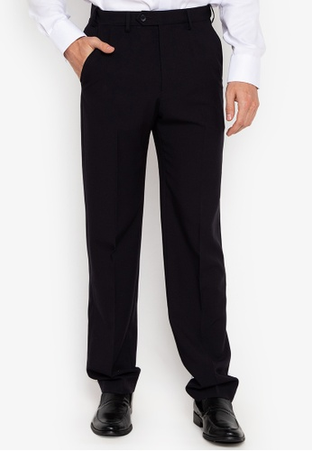 aae51caf8 Shop MARKS   SPENCER Regular Fit Flat Front Trousers Online on ZALORA  Philippines