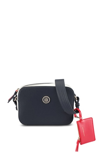 Tommy Hilfiger multi TH SIGNATURE STRAP CAMERA BAG TO861AC0SYHDMY_1