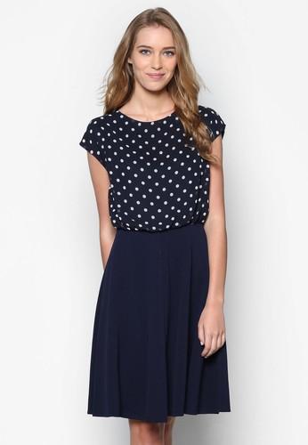 點點印花小洋裝, 服飾, zalora時尚購物網評價服飾