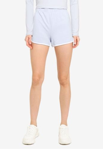 Hollister blue Logo Knit Shorts B1327AA2AFA7BBGS_1
