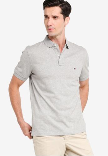 Tommy Hilfiger 灰色 Tommy Regular Polo Shirt 98902AA802F315GS_1