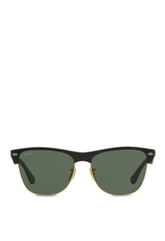 951252f8b8 Ray-Ban black Clubmaster Oversized RB4175 Sunglasses RA370GL44SDZSG 1