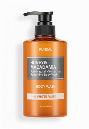 KUNDAL [KUNDAL] Pure Body Wash 500ml White Musk 8BBFEBE354A1AFGS_1