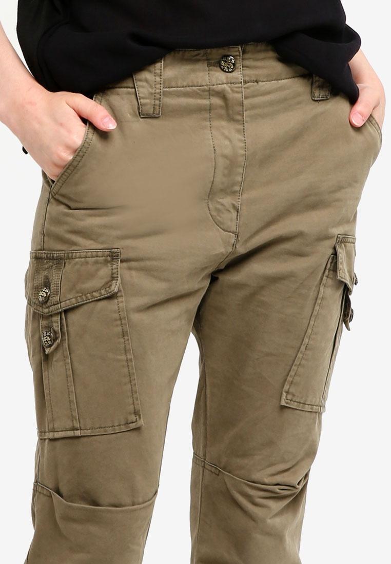 ASH Long ASH Pants Pants Green Paon Green Long Paon I46Bxqw