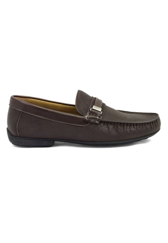 Tomaz brown Tomaz C254 Buckled Loafers (Coffee) TO717SH66GTPMY_1