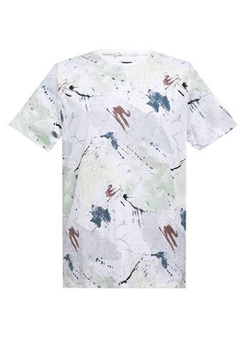 Manzone white Doppler T-Shirt 6799EAA7BE5962GS_1