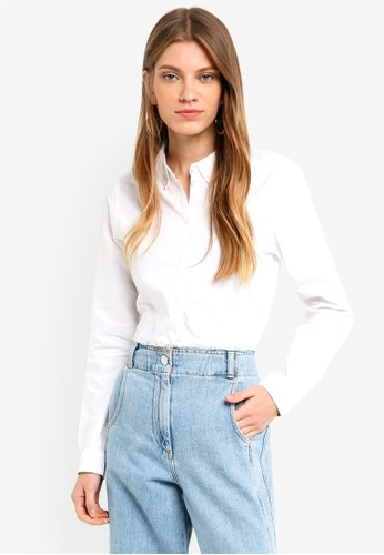 Vero Moda white Katie Shirt 9A280AA068FF87GS_1