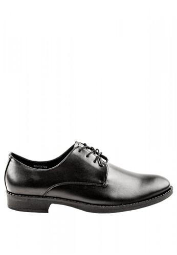 Otto black Lace Up Shoes 5F7B9SH74CC7D7GS_1