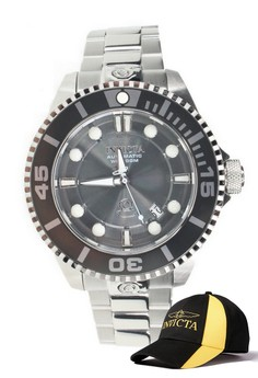 Pro Diver Men 47mm Case Watch 19800 with FREE Baseball Cap