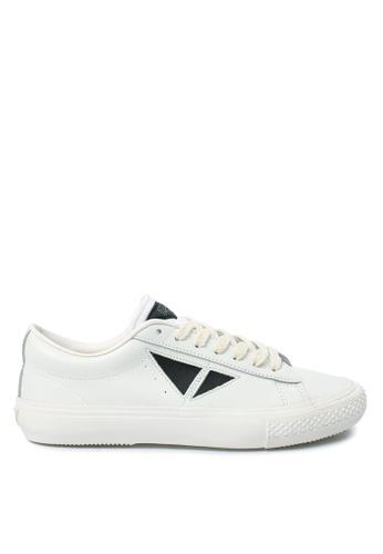 TOUCH GROUND white Vintage Triangle WHITE BLACK TO294SH0GTU1SG_1
