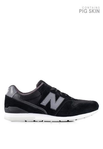 New Balance black 996 Lifestyle Sneakers NE323SH0RHBAMY_1