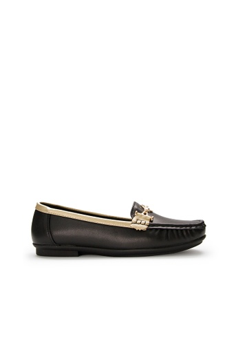 SEMBONIA black SEMBONIA Synthetic Leather Loafer (Black) 90FE3SH4232D1EGS_1
