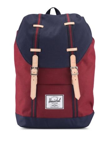 Herschel red Retreat Backpack 77090AC08C24AFGS_1