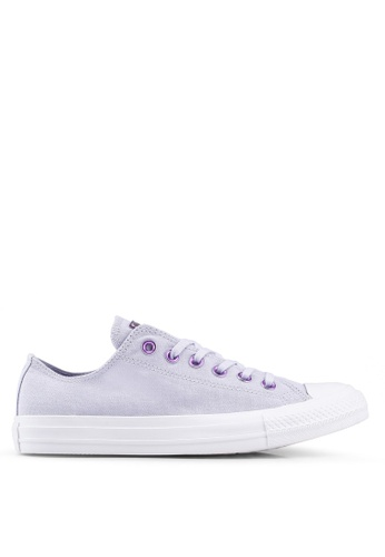6bd715443b1385 Converse purple Chuck Taylor All Star Hearts Ox Sneakers D22C9SH2B671C0GS 1