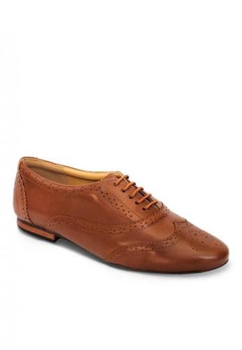 Sebago brown Women's Shoes Katherine Wingtip A8429SH0C54101GS_1