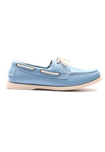 Moley blue Premium Synthetic Leather Boat Shoe FFDD0SH8D1D3D3GS_1