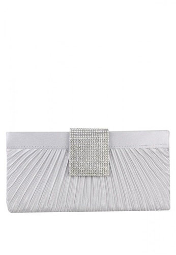 DNJ silver Michelle Evening Bag DN487AC0JDEKPH_1