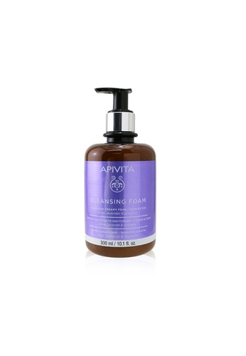 Apivita APIVITA - Cleansing Creamy Foam - Face & Eyes (Limited Edition) 300ml/10.1oz E570CBE9B03E50GS_1