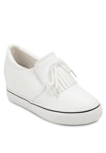 隱藏楔型跟流蘇懶人鞋、 女鞋、 鞋TwentyEightShoes隱藏楔型跟流蘇懶人鞋最新折價
