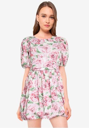 Miss Selfridge white Ivory Ruched Mini Dress D1659AAFD09CE9GS_1