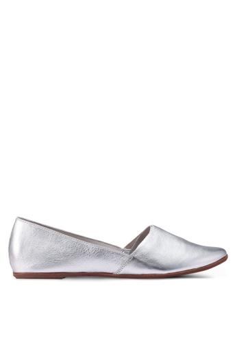 ALDO silver Blanchette Flats B8C5BSH0D1AD9DGS_1