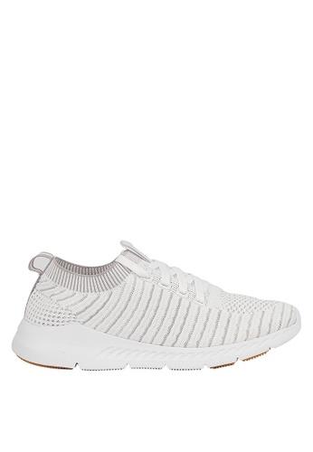 World Balance white Weave Strider Mens Sneakers 5EABFSH9B382A1GS_1
