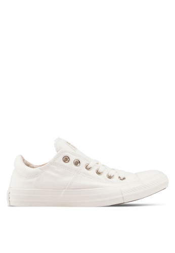 Converse white Chuck Taylor All Star Madison Croc Canvas Ox Sneakers 79248SH31FD1EFGS_1