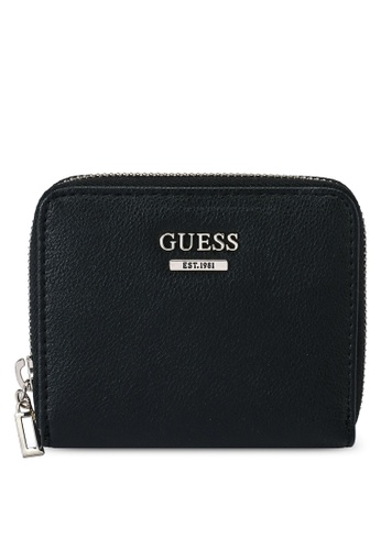 Guess black Noelle Small Zip Around Wallet D951DAC6C00610GS_1