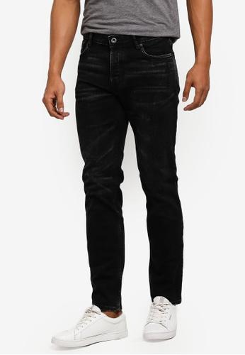MANGO Man 灰色 修身牛仔褲 1FC71AA0855D37GS_1