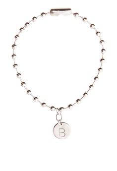 Stainless Steel Coin Bracelet B