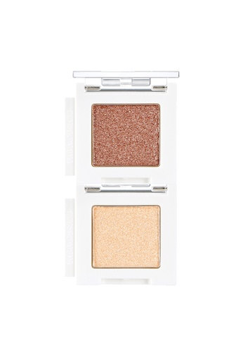 THE FACE SHOP beige Mono Cube Eyeshadow (Jelly) BE01 Dear Beige 60876BEF31AB23GS_1