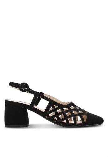 ZALORA black Slingback Mid Heels 43BF6ZZA8AD747GS_1