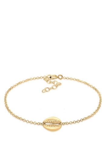 ELLI GERMANY gold Elli Germany Bracelet Shell Basic in 925 Sterling Silver Gold-Plated 2D75FAC2875E1AGS_1