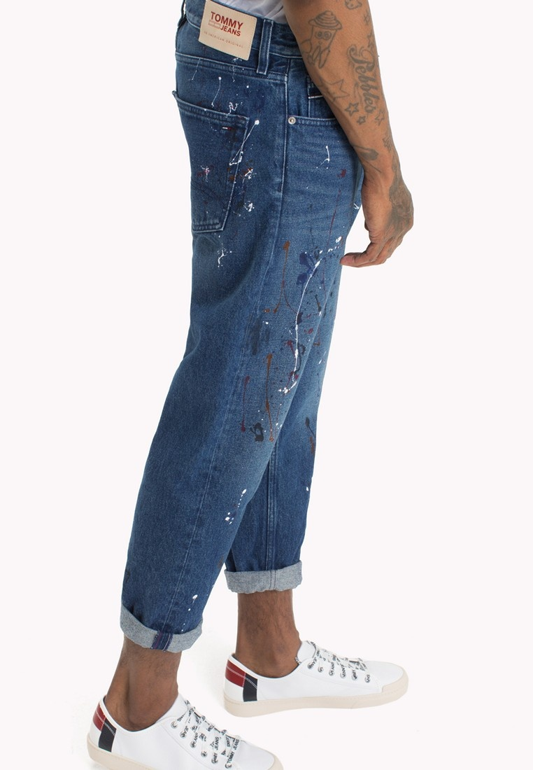 CROPPED MID SPLASH RELAXED BLUE RIGID RANDY Tommy SPMBRG Jeans zxRpdq