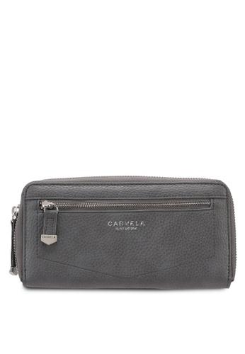 Carvela KG grey Alis Zip Around Wallet with Zip A31DFAC45DE284GS_1
