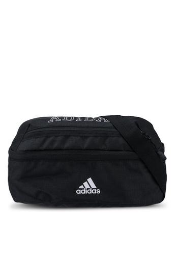 ADIDAS black classic waist bag 70BD4AC3905DD9GS_1