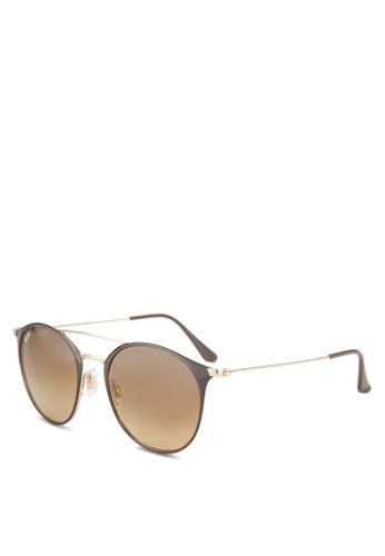 Ray-Ban 褐色 RB3546 Sunglasses RA896GL13GQSMY_1