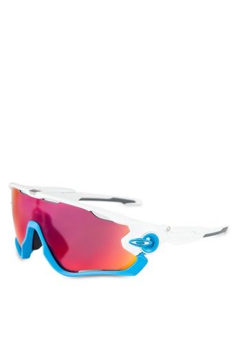 Oakley white Sports Performance OO9270 Sunglasses OA636GL0RNJ9MY_1